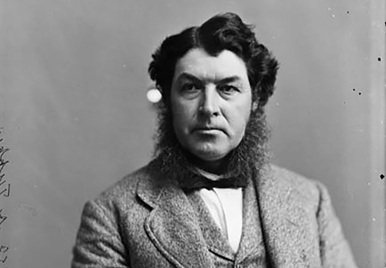 Amongst Canadian Prime Ministers, the prize for most impressive mutton chops undoubtedly goes to Charles Tupper (Courtesy Wikimedia Commons)